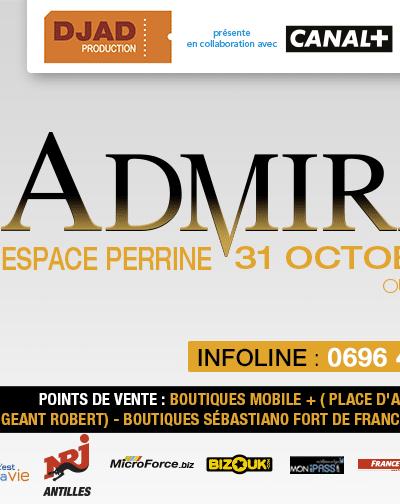Admiral T : Le #TotemTour débarque le 31 Octobre à l'Espace Perrine